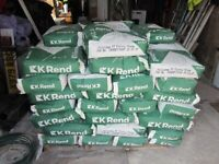 K-Rend Silicone Scraped Texture, used for sale  Berwick-upon-Tweed, Northumberland