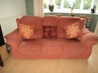 Two 3-seater settees - ex DFS - can be sold separately