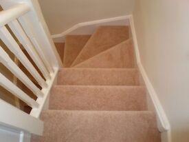 Carpet fitter/underlay/carpet fitting