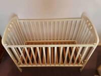 White Mamas and Papas Cot Bed