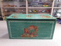 Beautiful Wooden Childs Toy Box
