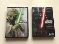 Star Wars The Original Trilogy & The Prequel Trilogy DVDs BRAND NEW & SEALED