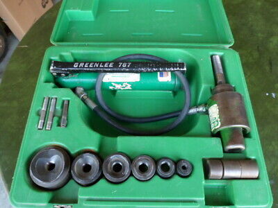 Greenlee 767 Hydraulic Knockout Punch Set With Dies