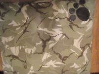 Dog Pet Bed Army camouflage pattern washable zipped cover