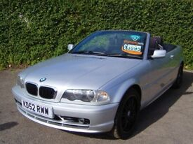 BMW 318CI CONVERTIBLE 2.0 AUTOMATIC