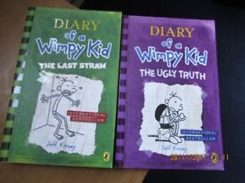 Diary Of A Wimpy Kid Books X 2