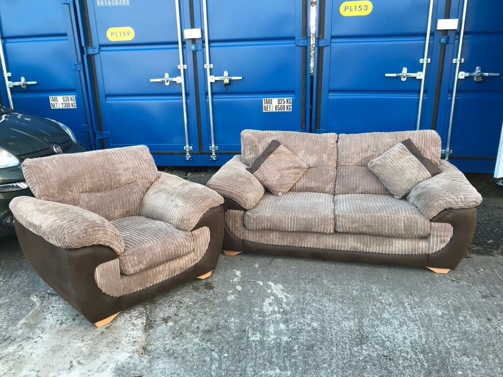 Sofa Chair And Matching Poof In Plymouth Devon Gumtree ~ Matching Sofa And Chairs
