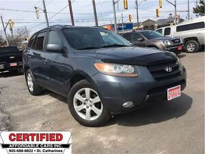 2007 Hyundai Santa Fe GLS w/HTD LEATHER, ROOF AND MORE**