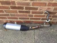Forsale exhaust pipe from Yamaha yzf r125