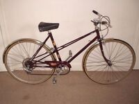 "Classic/Vintage/Retro Ladies/Womens Raleigh Misty 20"" Commuter/Hybrid/Town Bike (will deliver)"