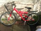 APOLLO RED MOUNTAIN BIKE FOR SALE
