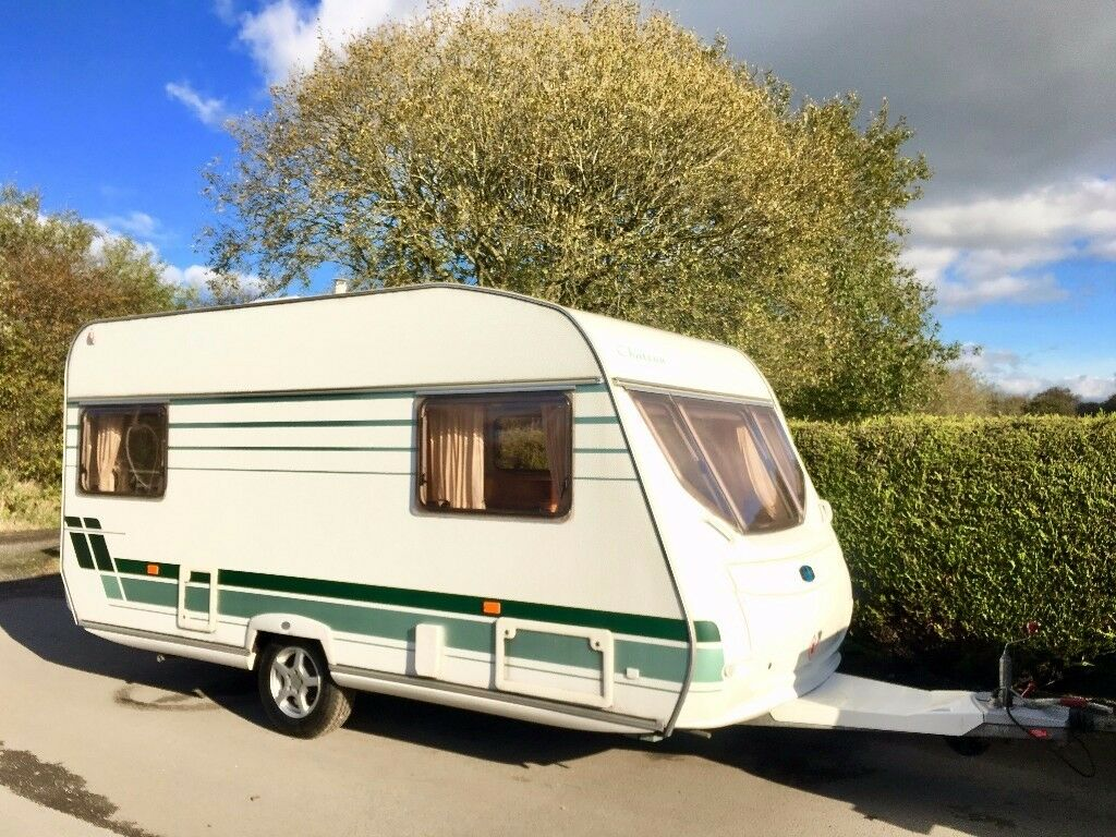 Lunar Chateau 5 Berth Caravan With Optional Fixed Bed ...
