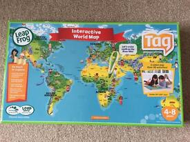 Leapfrog Tag Interactive Map