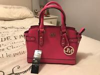 Hot Pink Star by Julian MacDonald Small Handbag BRAND NEW!!