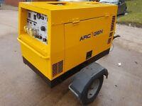 Welder Generator   ArcGen Weldmaker 300SSD   4186 Hours