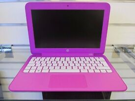 "Pink - HP Mini 11"" Laptop * Refurbished * 12 Months Warranty * Boxed *"