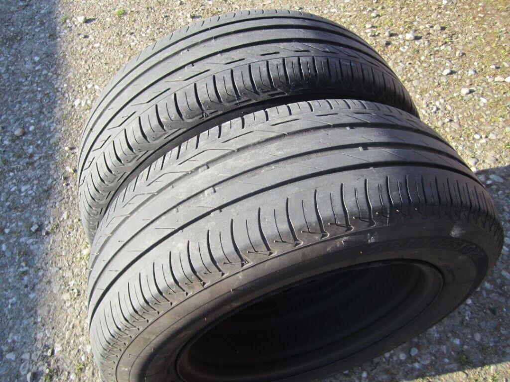 2 Good Bridgestone 195 65 15 Tyres, Approx 6 mm Tread  | in Antrim, County  Antrim | Gumtree