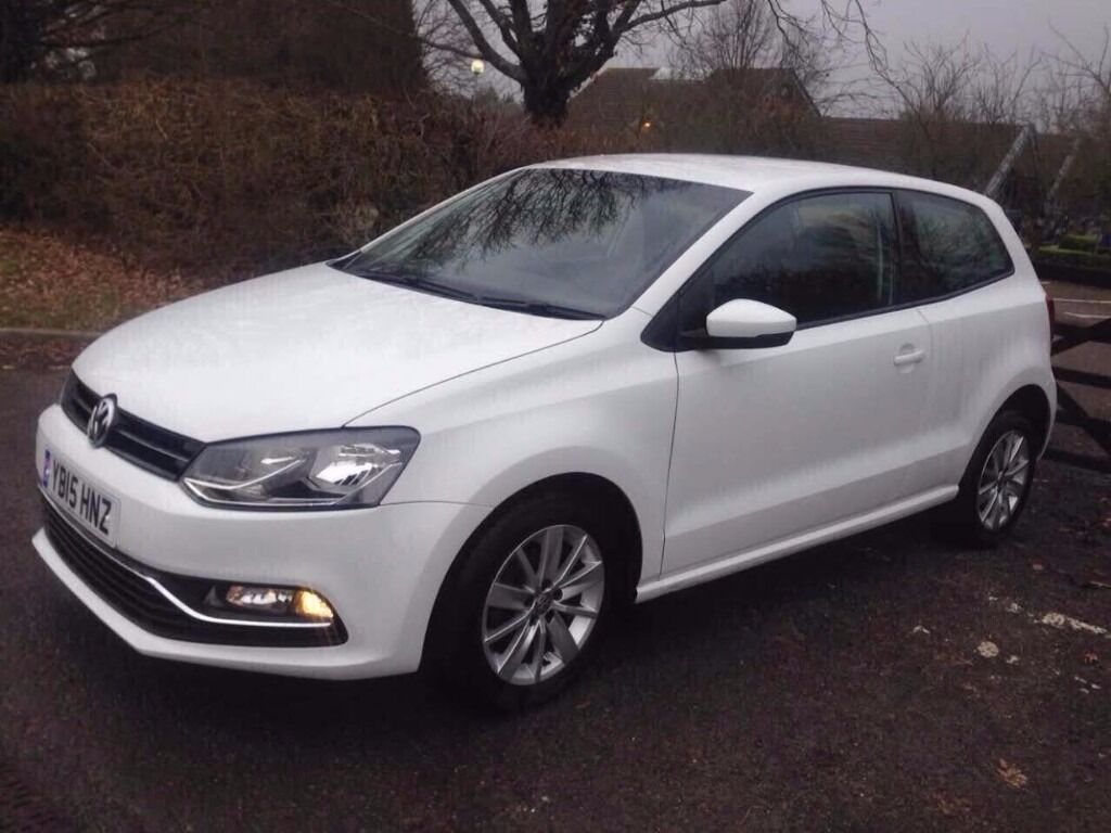 2015 volkswagen polo white 3 door 1 2 tsi cat c minor damage only professionally repaired. Black Bedroom Furniture Sets. Home Design Ideas