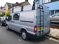 2010 / 59 Plate Ford Transit 115 T300s Crew Van 7 Seater.