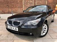 2004 / BMW 525 / MANUAL / FULL LEATHER / ALLOYS / ELECTRIC WINDOWS / CD / NOV MOT .