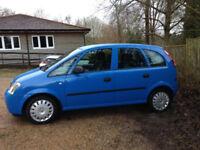 2003 Vauxhall Meriva 1.6 Life 8v