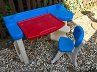 Toddler desk & chair