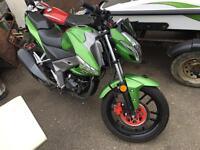 Kymco ck1 125 motorbike. Similar to Honda Yamaha suzuki