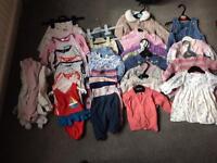 0-3 month girls clothes bundle
