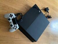 Black PS4 & Controller