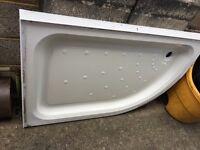 1200 x 800 Stone shower tray