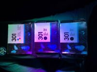 HP301 Ink Cartridges - 2 x Black and 1 x Tri Colour