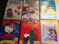 Pre school dvd's bundle