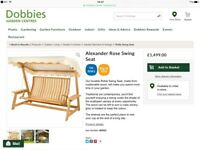 Alexander Rose Swing Seat (New)