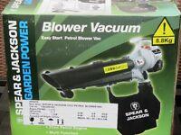 Petrol blower vacuum (new sealed in box)