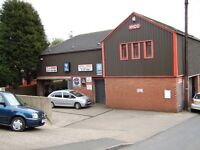 Secure FIRST FLOOR Self contained unit in a number one post code, workshop/office/storage