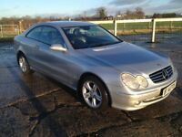 2005 Mercedes CLK 270CDI Avantgarde Auto FSH, 1yrs Mot, 6mth warranty
