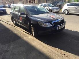 Skoda Octavia 1.6 tdi diesel leeds taxi plated private hire