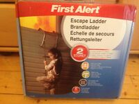 Fire hazard safety/Escape Ladder-2 Storey ( New, Never Used!!)