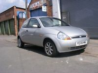 2008 plate ford ka met silver with full mot ,54k,1 former keeper