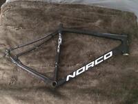 Aluminium road bike frame
