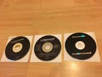 ALIENWARE LAPTOP RECOVERY CDs, IDEAL FOR M18X, M17X, M15X, M14X, M13X & M11X LAPTOPS