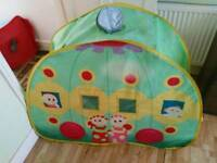 In the night garden hidey den for toddlers
