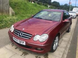 Mercedes CLK 220 cdi Diesel Automatic 2008 Coupe
