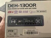 Pioneer DEH-1300R Car Stereo