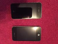 Two iPhone 4s