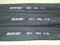 Sonik S4 12ft 3lb 50mm Rods Carp Fishing Equipment