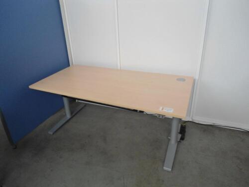 Steh Sitzarbeitsplatz Ergo Flex Elektr Schreibtisch Büromöbel