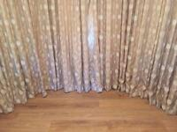 Bay Window Curtains with tie backs