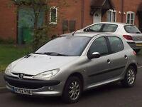 Peugeot 206 1.4 HDi (Turbo diesel) £30 a year tax 60 + mpg