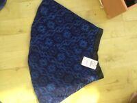 Zara designer skirt size 10 NEW